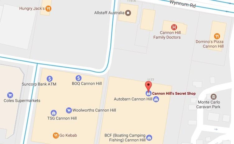 Cannon Hill Secret Shop